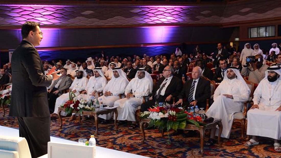 Mr. Yusuf Manji, announcing the expansion of his businesses into major world markets during his address to a gathering of international business leaders in Abu Dhabi.